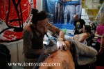 HK based tattooist Leon Lam